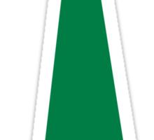 Shamrock tie St. Patrick's day Sticker
