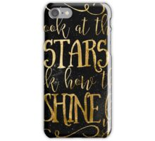 Star Shine Word Art iPhone Case/Skin