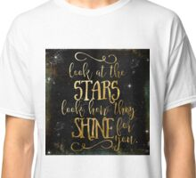 Star Shine Word Art Classic T-Shirt