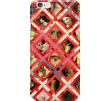 Moroccan pattern meets an erotic renaissance iPhone Case/Skin