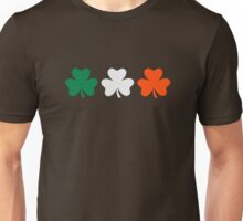Ireland flag shamrocks Unisex T-Shirt
