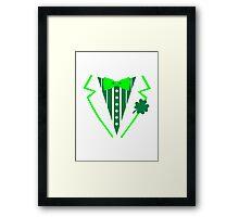 St. Patrick's day tuxedo Framed Print