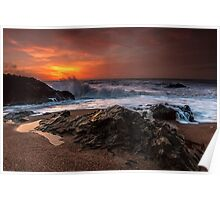 Arklow Sunrise - Wexford Ireland Poster
