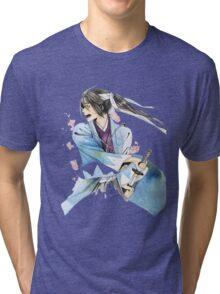WAR IN BLOSSOMS Tri-blend T-Shirt