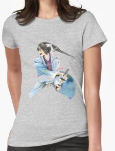 WAR IN BLOSSOMS Womens Fitted T-Shirt