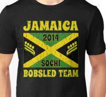 Vintage 2014 Jamaican Bobsled Team Sochi Olympics T Shirt Unisex T-Shirt