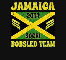 Vintage 2014 Jamaican Bobsled Team Sochi Olympics T Shirt Unisex T-Shirt