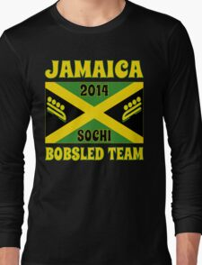 2014 Jamaican Bobsled Team Sochi Olympics T Shirt Long Sleeve T-Shirt