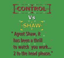 Control Vs Shaw by REDROCKETDINER