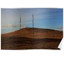 Divis Mountain From Black Mountain Poster