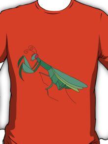 Cute Praying Mantis T-Shirt