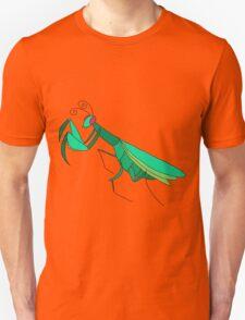 Cute Praying Mantis Unisex T-Shirt