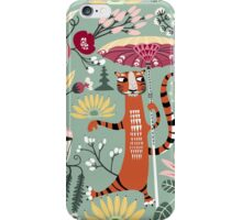 Tiger garden Bali iPhone Case/Skin