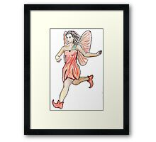 Poppy Fairy Framed Print