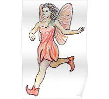 Poppy Fairy Poster