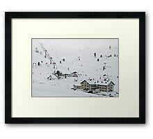 More than 2000 meter high Framed Print