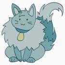 Fluffy Ice Kitty by SaradaBoru