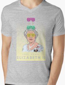Cool Down - Queen Elizabeth II Mens V-Neck T-Shirt