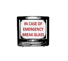 IN CASE OF EMERGENCY Photographic Print