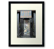 East Village NYC #2 Framed Print