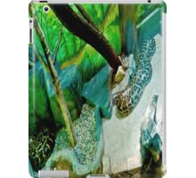 Green creepy. iPad Case/Skin