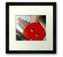 #9 57th Street NYC Framed Print