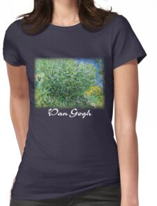 Vincent Van Gogh - Lilacs Womens Fitted T-Shirt