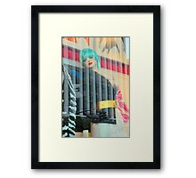 Lady of 5th Ave  Framed Print