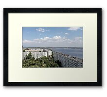 hydroelectric power station Framed Print
