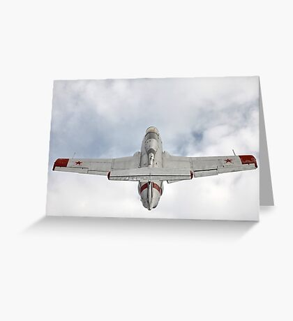 Aero L-29 Delfin Greeting Card