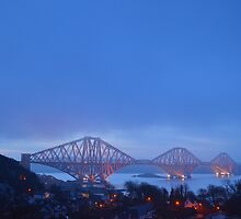 Forth Rail Bridge by Pete Johnston