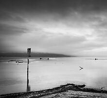 Lonely Post by Christophe Besson