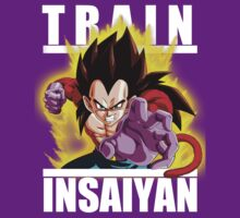 Train insaiyan - Vegeta by Ali Gokalp