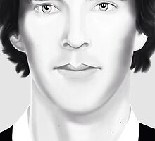 Benedict Cumberbatch by tospeakisasin