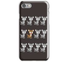LOOK! It's Rudolph! v2 iPhone Case/Skin