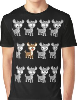 LOOK! It's Rudolph! v2 Graphic T-Shirt