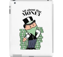 Mr. takeurmoneybags iPad Case/Skin