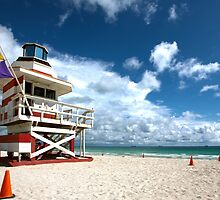 Candy Stripe Lifeguard House 2 by lattapictures