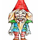 Gnome for luck by Renata Lombard
