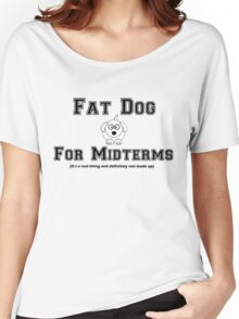 Fat Dog for Midterms Women's Relaxed Fit T-Shirt