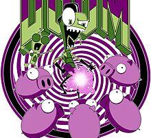 Invader Doom by MikePartist