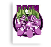 Invader Doom Canvas Print
