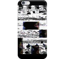 Glitch Skull iPhone Case/Skin