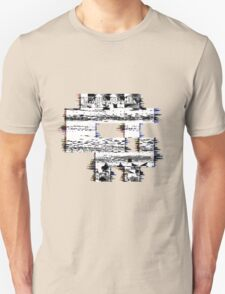 Glitch Skull Unisex T-Shirt