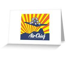 Air Chief Greeting Card