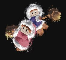 Abstract Ice Climber Epic Duo T-Shirt