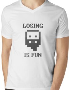 Dwarf Fortress - Losing is Fun! Mens V-Neck T-Shirt