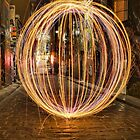 Light Orb in Hosier Lane by djzontheball