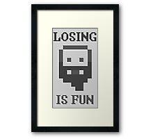 Dwarf Fortress - Losing is Fun! Framed Print