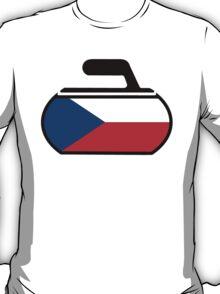Czechoslovakia Curling T-Shirt